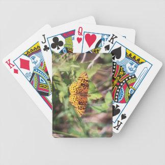 Fritillary del prado barajas de cartas