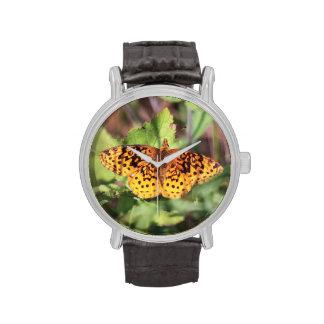 Fritillary del prado relojes de mano