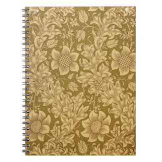 'Fritillary' wallpaper design, 1885 Notebook