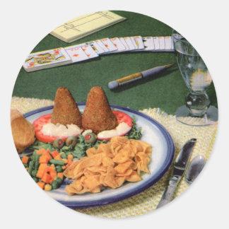 frito ketts 1947 classic round sticker