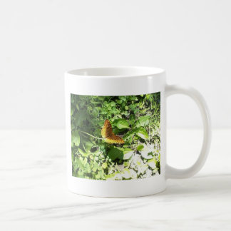 frittiliary butterly tazas