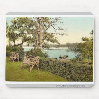Fritton Decoy, Fritton, England classic Photochrom Mousepads