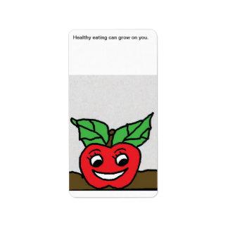 Fritz apple label