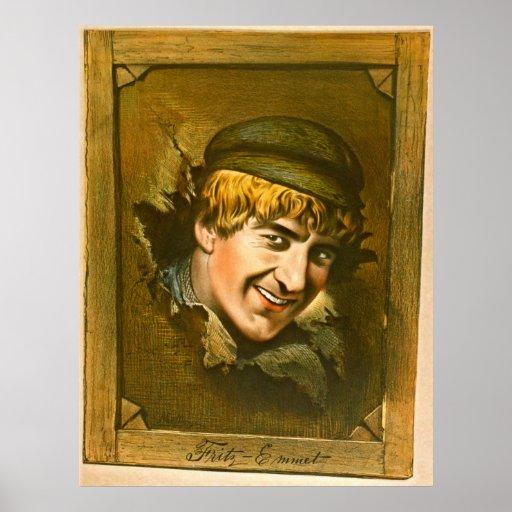 Fritz-Emmet 1880 del actor Poster