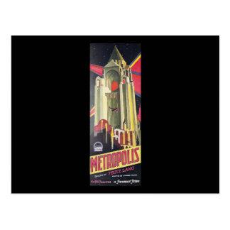 Fritz Lang Metropolis Post Card