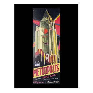 Fritz Lang Metropolis Postcard