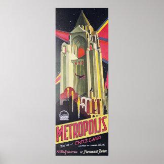 Fritz Lang Metropolis Poster