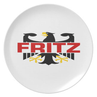 Fritz Surname Plate