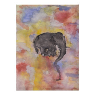 Fritz The Elephant Poster
