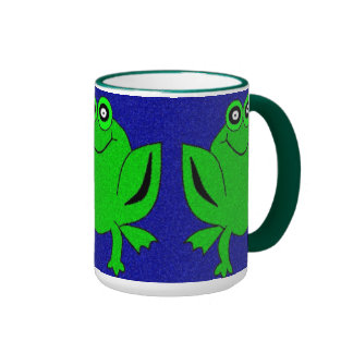 Fritz the Frog Ringer Mug