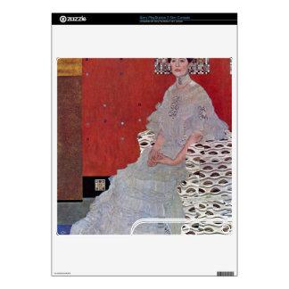 Fritza Reidler Klimt by Gustav Klimt PS3 Slim Console Decal