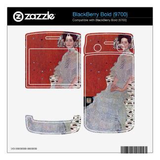 Fritza Reidler Klimt by Gustav Klimt BlackBerry Skin