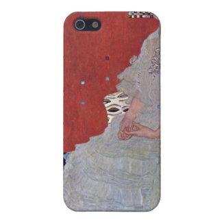 Fritza Reidler Klimt de Gustavo Klimt iPhone 5 Fundas