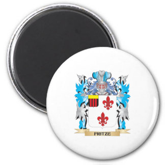 Fritze Coat of Arms - Family Crest 2 Inch Round Magnet