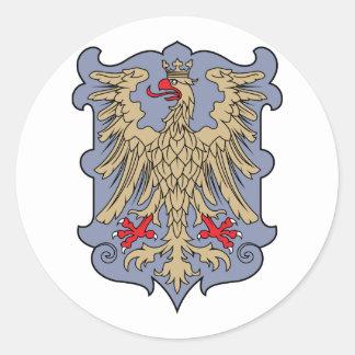 friuli, Austria Classic Round Sticker
