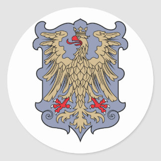 friuli, Austria Etiqueta Redonda