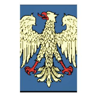 Friuli-Venezia Giulia (Italy) Flag Stationery Paper