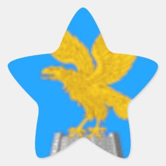 Friuli Venezia Giulia (Italy) Flag Star Sticker