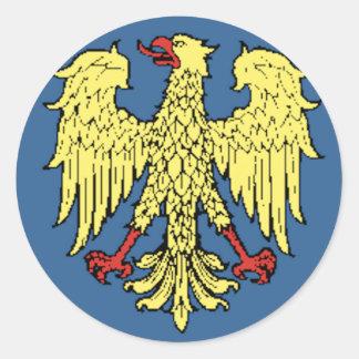 Friuli-Venezia Giulia (Italy) Flag Sticker