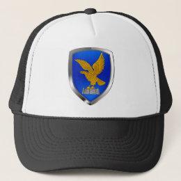 Friuli Venezia Giulia Mettalic Emblem Trucker Hat