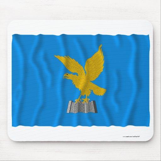 Friuli-Venezia Giulia waving flag Mouse Pad