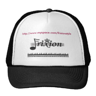Frixion Cap with URL Trucker Hat