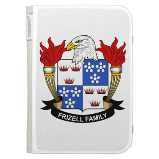 Frizell Family Crest Kindle 3G Covers