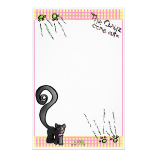 "Frl Kat: ""The Clawz Come Out!"" Stationery~ Stationery"