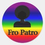 Fro Patro Sticker