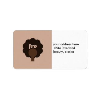 'Fro Sho Label