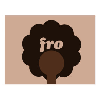 'Fro Sho Postcard