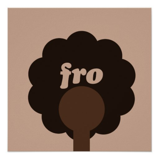 'Fro Sho Poster