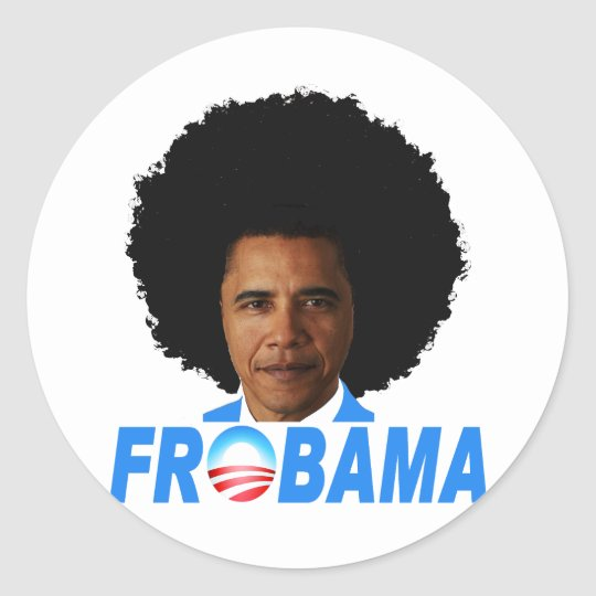 Frobama Classic Round Sticker