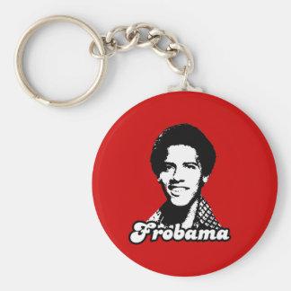 Frobama Gear Basic Round Button Keychain