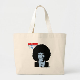 frObama Large Tote Bag