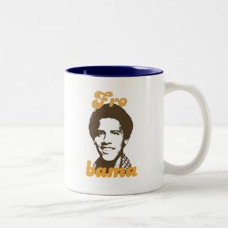 Frobama Shirt Two-Tone Coffee Mug