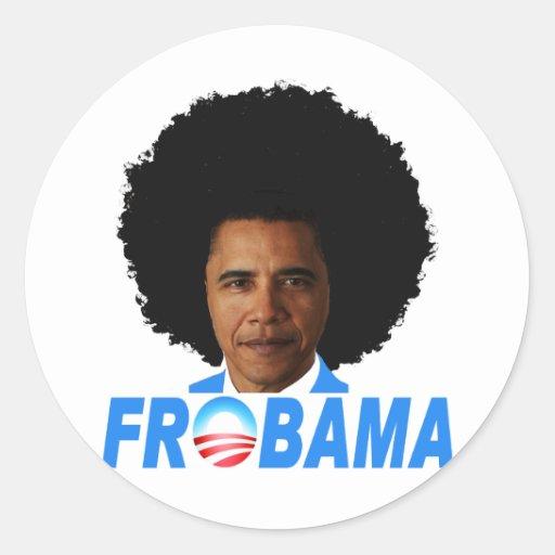 Frobama Sticker