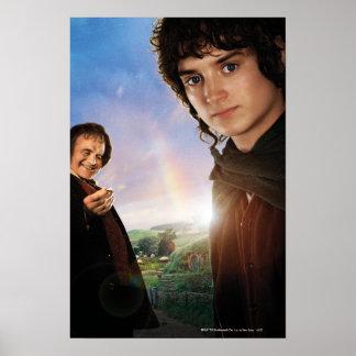 FRODO™ and Bilbo Baggins Poster