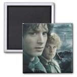 FRODO™ and Samwise Close Up Fridge Magnets