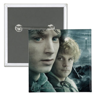 FRODO™ and Samwise Close Up Pinback Button
