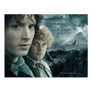 Frodo and Samwise Close Up Post Card