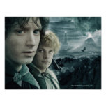 FRODO™ and Samwise Close Up Poster