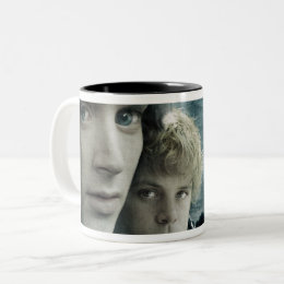 FRODO™ and Samwise Close Up Two-Tone Coffee Mug