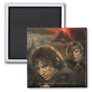 FRODO™ and Samwise 2 Inch Square Magnet