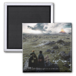 FRODO™ and Samwise Standing 2 Inch Square Magnet
