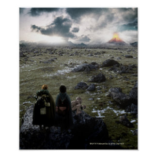 FRODO™ and Samwise Standing Poster