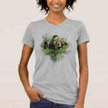 FRODO™ con collage del vector de Hobbits T-shirts