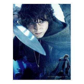 FRODO™ con la espada Tarjeta Postal