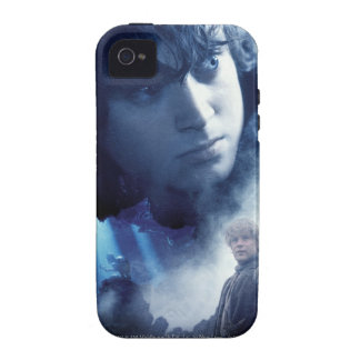 Frodo Gollum and Sam Vibe iPhone 4 Cover