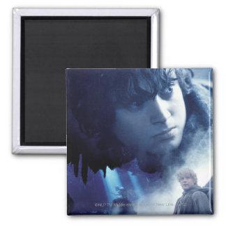 Frodo, Gollum and Sam Magnet